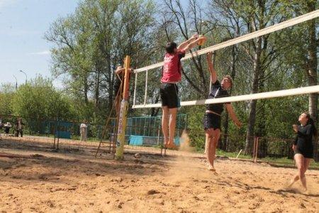 Турнир по пляжному волейболу, посвящённый 9 мая. 8.05.14