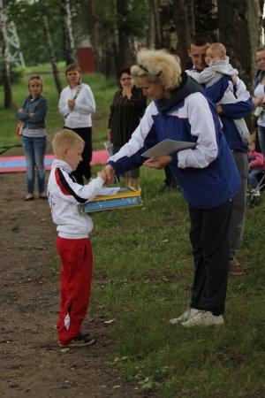 Семейный праздник-соревнование, посвящённый Всероссийскому Дню Пап. 15.06.14