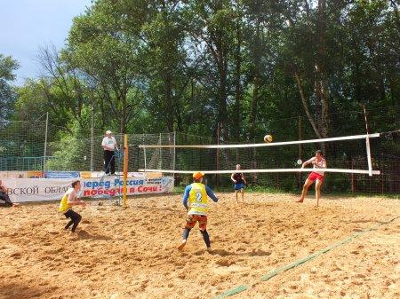 Турнир по пляжному волейболу, посвящённый Дню Защиты Детей. 31.05.15