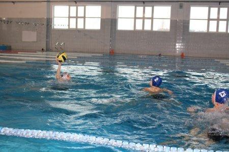 Соревнования по водному поло среди учащихся 5-8 классов СОШ г.п. Яхрома. 01.02.2017