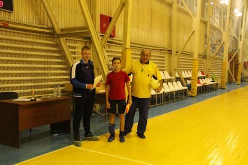 Турнир по мини-футболу среди 6-8 классов СОШ г.п.Яхрома (23.11.17)