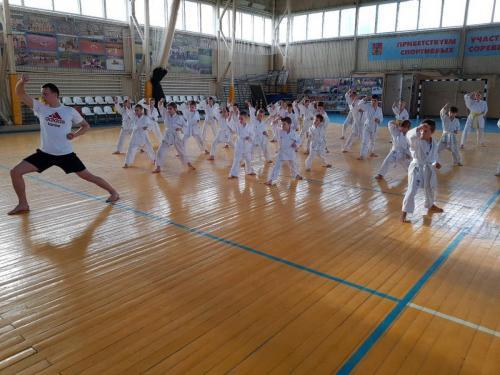 Тренеровочный экзамен по карате (29.04.2018г.)