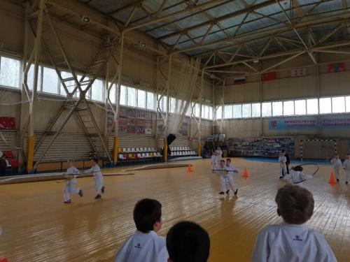 Спортивный праздник среди воспитанников секции карате (05.05.2018г.)
