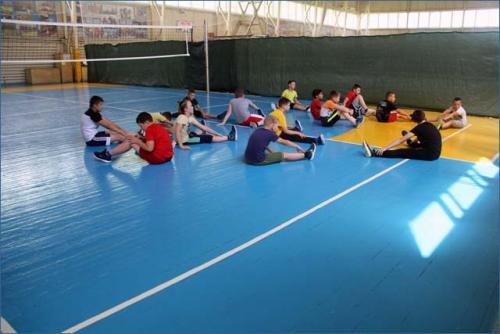 2020-07-09 возобновление тренировок по волейболу